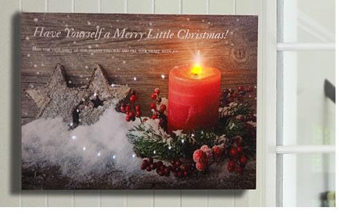 ライトアップキャンバス M クリスマス