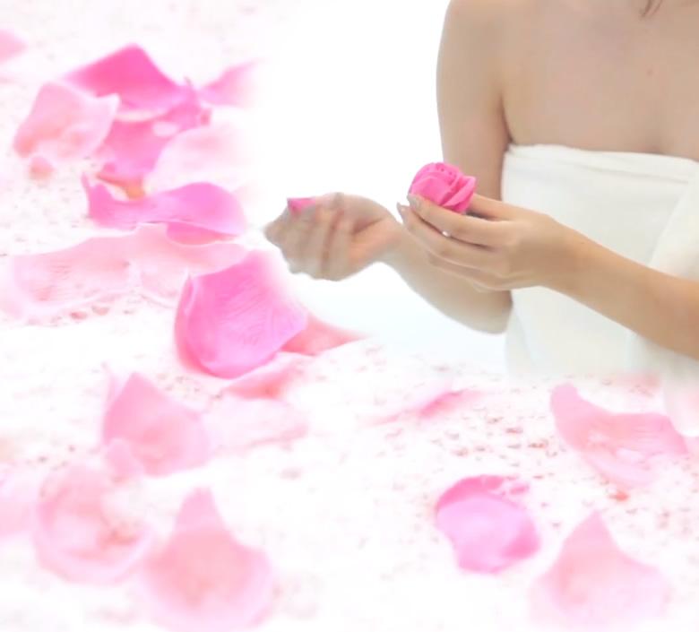 ソープフラワー 入浴剤