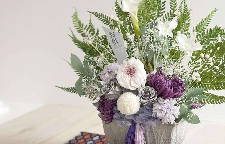 お供え花にプリザーブドフラワーが選ばれている理由