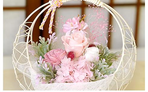 プリザーブドフラワー 雅桜〜みやびざくら〜